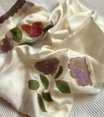 Svilena marama - rucno slikana