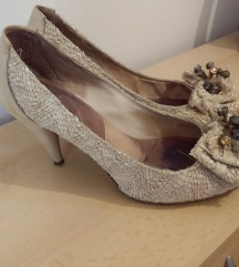 krem kozne sandale 38