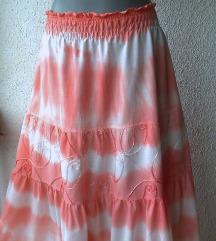 suknja za leto pamučna široka br 46 do 50 ITALY