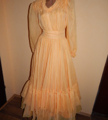 Zuta duga haljina