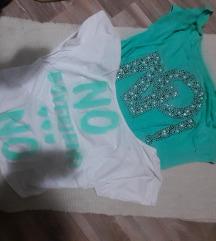 2 majice + top