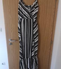 Duga prugasta haljina