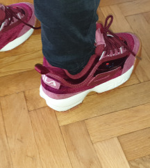 Fila Disruptor  red velvet
