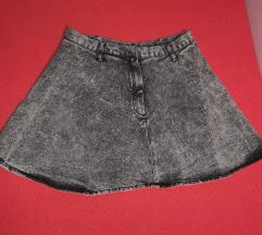 H&M suknja teksas