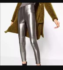 Zara metalik pantalone