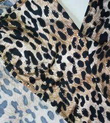 Leopard sa zlatnim print Bolero novo