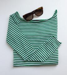 TRF | Zeleno-bela majica