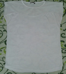 Bela majica sa tilom prelepa! KAO NOVA!