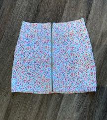 HM suknja neznog dizajna L 40  ZIP