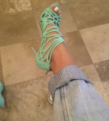 le silla zelene sandale