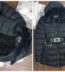 Nature * 46 * futrovana jakna * kao NOVO