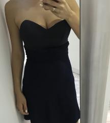 Elegantna haljinica u teget boji