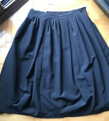 Suknja crna Midi ACNE
