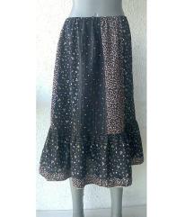 suknja pamučna za leto proleće broj M ili L