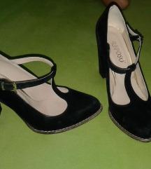 Rasprodaja Crne cipele kao nove 38 broj