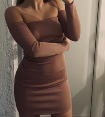Mini haljina bez bretela