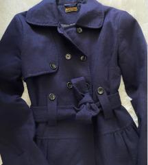 Prolećni teget kaput