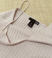 ✨ H&M svetlucava roze majica