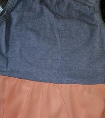 PIŠI BRIŠI haljina sa šlepom
