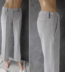 H&M svetlo sive poslovne pantalone