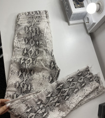 Zara snake pantalone M