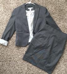 H&M suknja do kolena NOVO