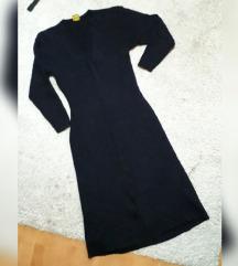 Trikotazna rebrasta haljina