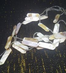Ogrlica od sedefa i perlica