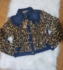 leopard teksas gornjak jaknica