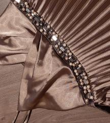 predivna nova haljina na falte s, m