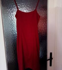 Elegantna crvena haljina iz Turske