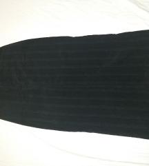 Crna dugacka suknja