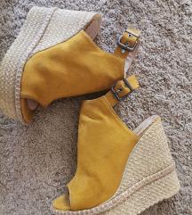 Žute/oker sandale