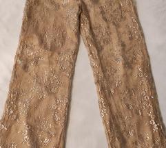 Vintage zlatne pantalone
