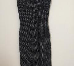 Letnja crna haljina - S/M/L