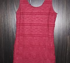 Mini bordo haljina