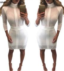 Ženska bela haljina