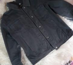 Siva teksas jakna