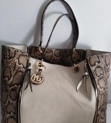 Marina Galanti velika kožna torba 2u1 40x30cm