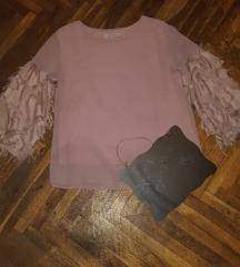 Prelepa bluza sa sirim rukavima