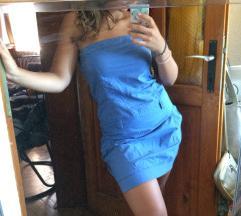 Plava top haljinica