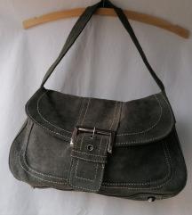 MANGO siva torba