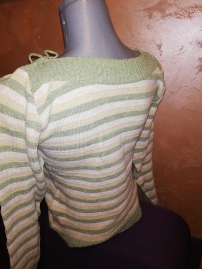 Zeleni džemper končani