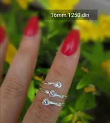 Prsten 925 16 mm