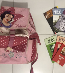 Disney ranac i torba za fizicko, na poklon knjiga