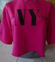 SADA 500 Nov H&M crop top roze duksić NY