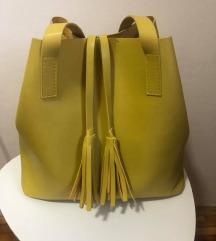 žuta torba, potpuno nova