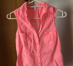 Jennyfer neon pink košuljica