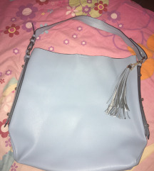 ZARA plava torba