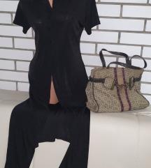 Duza haljina sa dugmicima +gratis